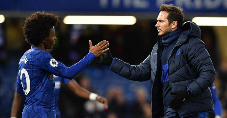 No Disappointment If Willian Leaves Chelsea, Says Lampard