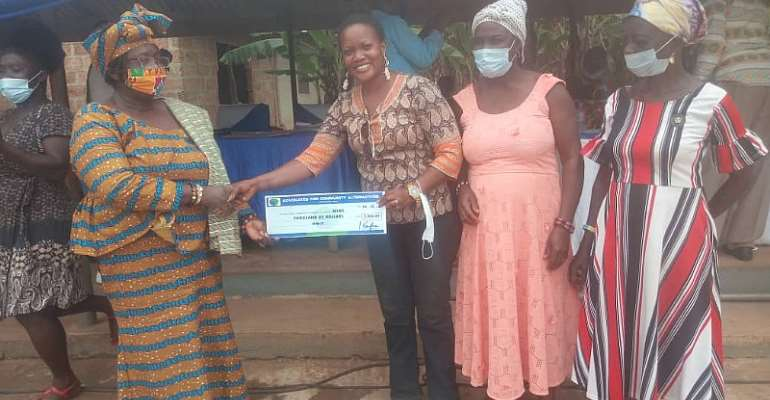 ACA gives $27,000 grant to three communities in Fanteakwa