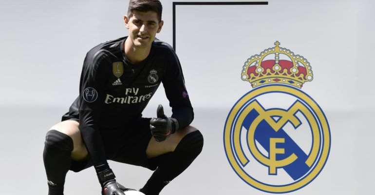 Thibaut Courtois Completes Move To Real Madrid
