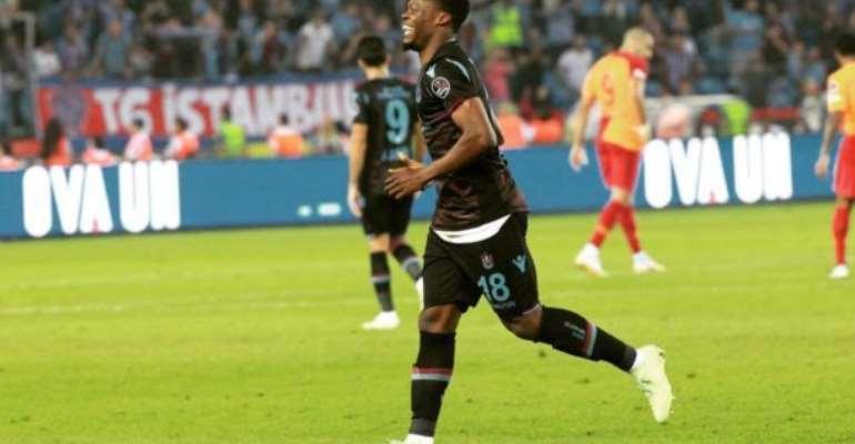 Europa League: Caleb Ekuban scores as Trabzonspor Draw 2-2 Against Sparta Prague