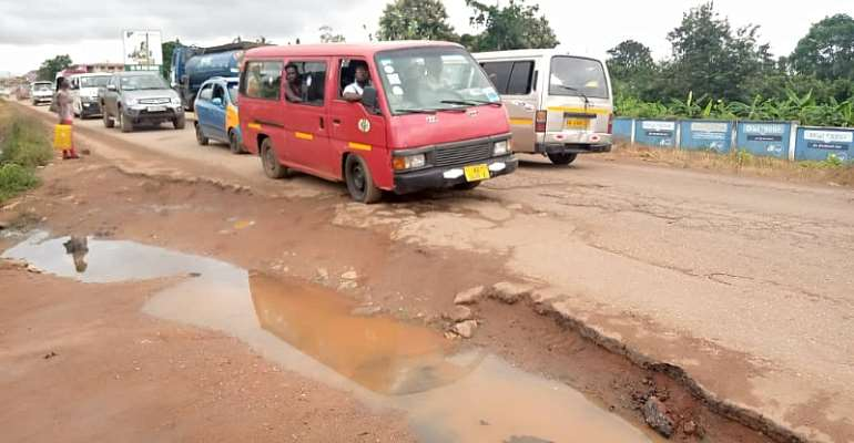Poor State Of Roads: DCE Admits He Is Under Pressure