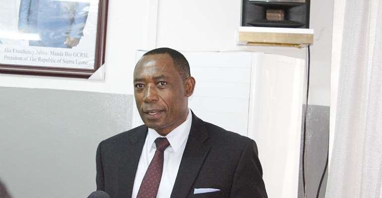 Oliver Chinganya, Director of the Economic Commission for Africa's (ECA)