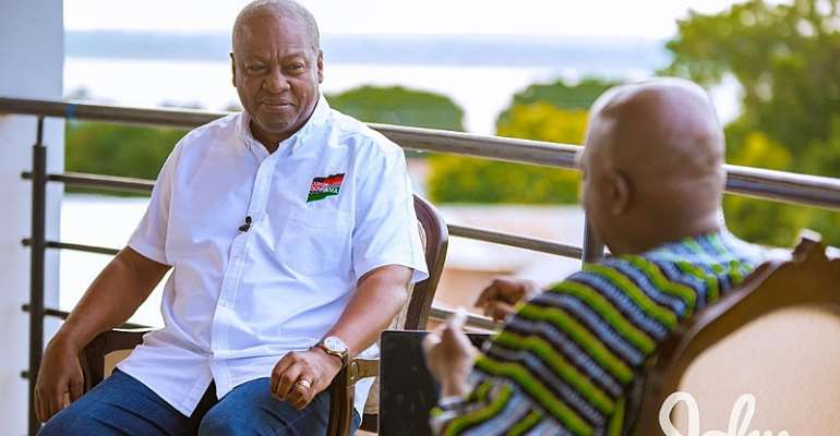Mahama Announces $10billion Infrastructural Plan To Finish All Abandoned Projects