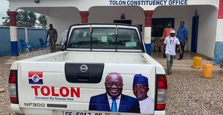 Alhaji  Alhassan Yakubu Tali Donates To NPP Tolon Constituency