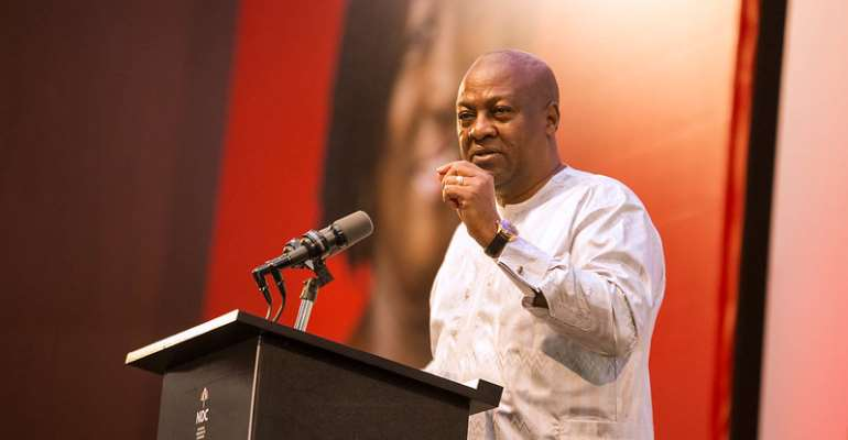 Akufo-Addo Gov't Giving 66% Shares Of Kotoka Airport To Private Firm Wrong – Mahama