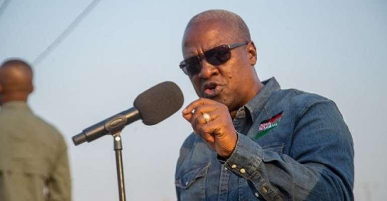 Akufo-Addo Has Put Ghana On Slippery Slope Of Chaos – Mahama