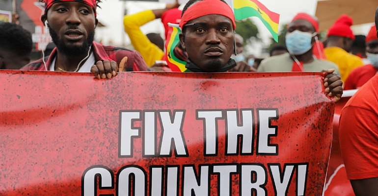 Ghana in Focus: #Fixthecountry