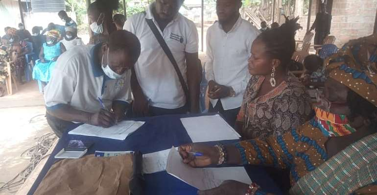 E/R: Three communities get Ghc162,000 to undertake sustainable livelihood enhancing projects