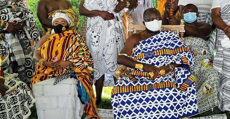 Otumfour celebrates Akwasidee in Maryland