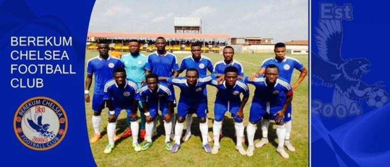 Ghana Premier League Preview: Berekum Chelsea vs AshantiGold- Blues up for it against revived Miners