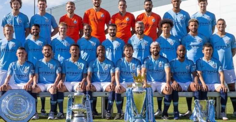 Manchester City Are First €1 Billion Squad - Study