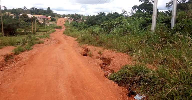 Jaman South Assembly Members cry over bad roads