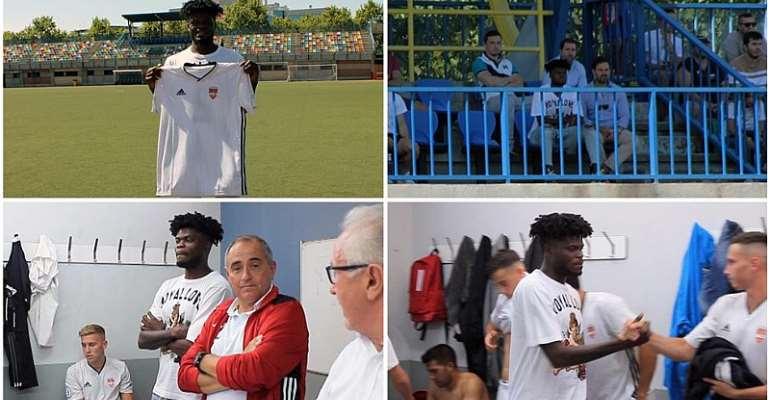 Thomas Partey Buys Spanish Football Club Alcobendas