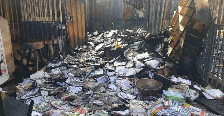 Accra: Fire Guts Dome Market