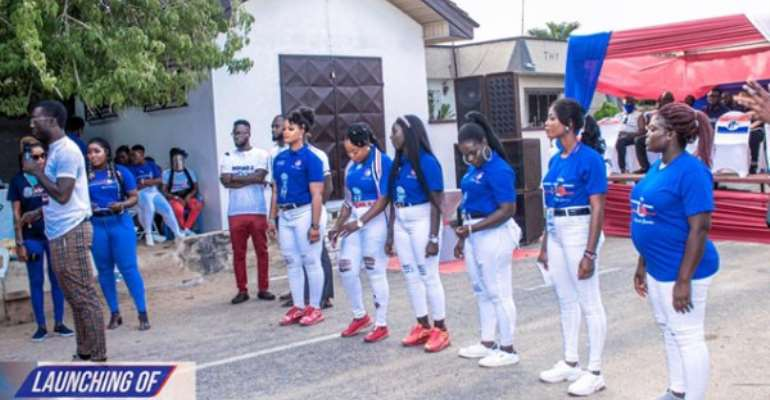Nsawam/Adoagyiri: NPP Inaugurates Staunch Queens For Door-to-Door Campaign