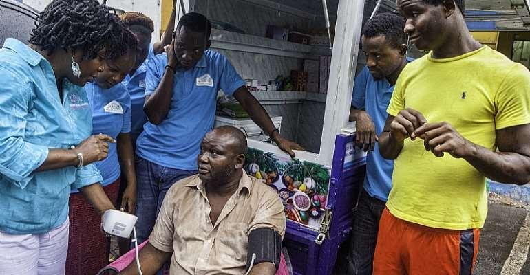 Cardiovascular risk factors are high in Sierra Leone.  - Source: Steven Rubin