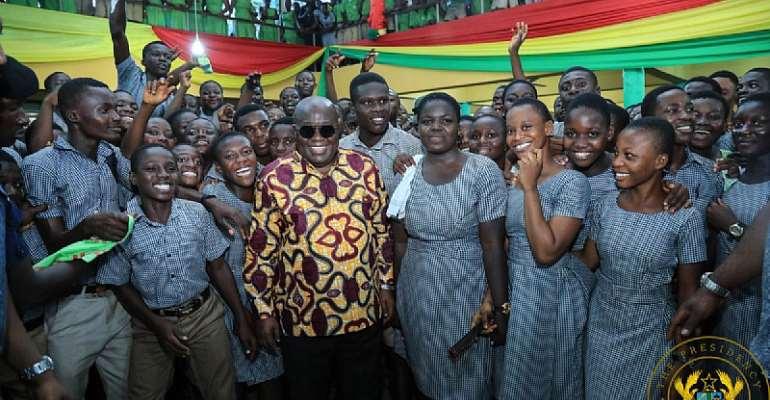 NPP Congratulates First Batch Of Free SHS Graduating Students