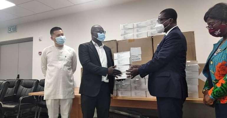 Ghana COVID-19 Fight: Opay, Opera Donate 100,000 Face Masks