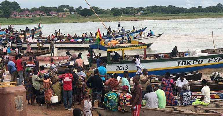 Missing Body In Boat Accident On River Oti Boat Accident Retrieved