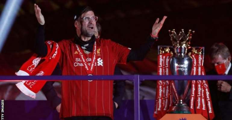 Jurgen Klopp's Liverpool side sealed the Premier League title with seven games to spare