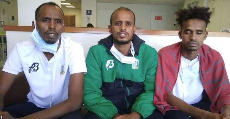 Djibouti internationals Bilal Hassan, Aboubakar Elmi and Nasrodin Aptidon are seeking political asylum in France