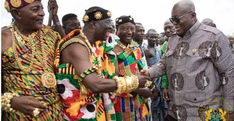 We're sorry NPP didn't win any seat in Oti Region, it's sad – Chiefs beg Akufo-Addo