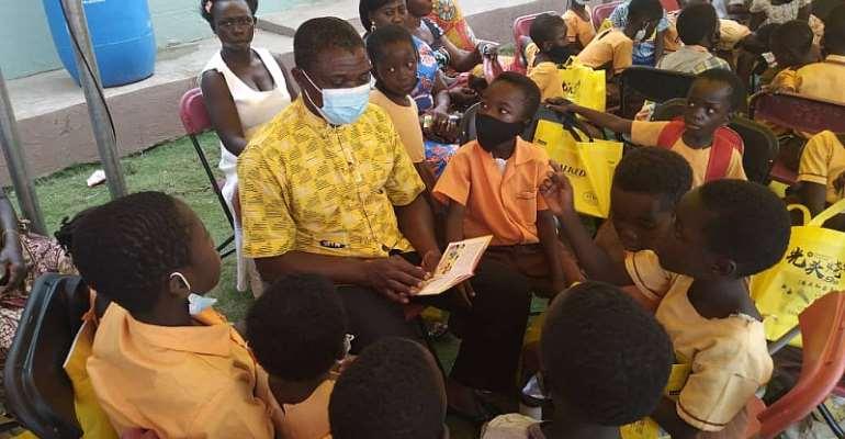 MTN Staff inspire Konkoma DA Primary pupils on World Literacy Day