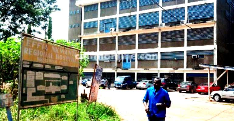 Effia Nkwanta hospital appeals to gov't for new regional hospital