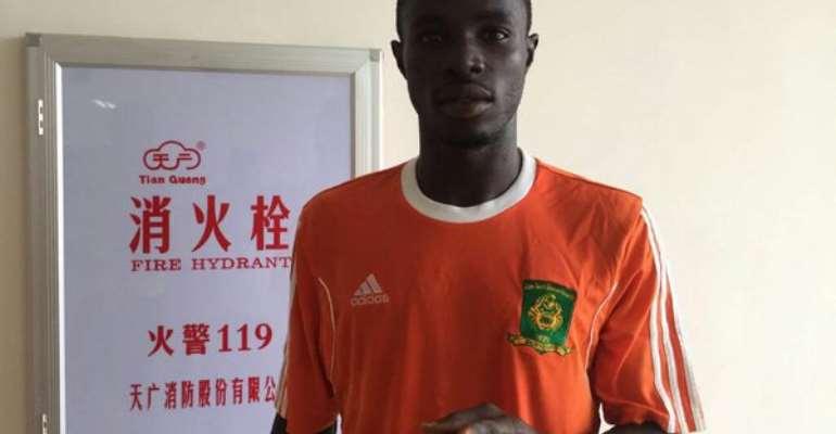 Striker Nicholas Gyan predicts big win for Dwarfs against Hearts in Accra