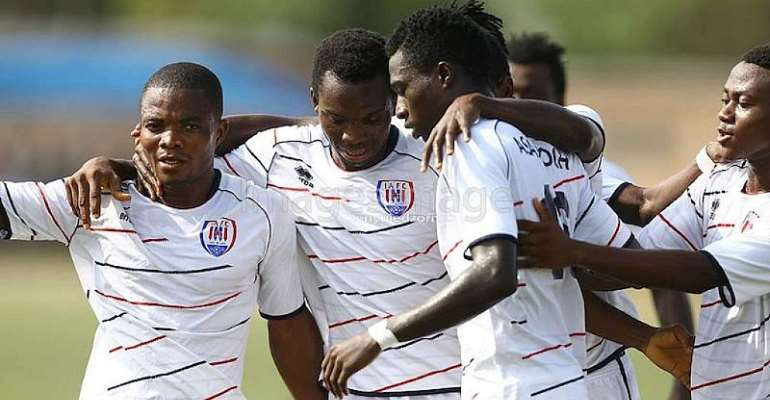 Match Report: Dreams FC 0-1 Inter Allies - Frederick Boateng stuns Dreams with majestic finish in Dawu