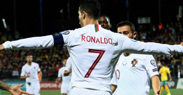 Watch Ronaldo's 4-Goal Haul In Euro Qualifier [VIDEO]