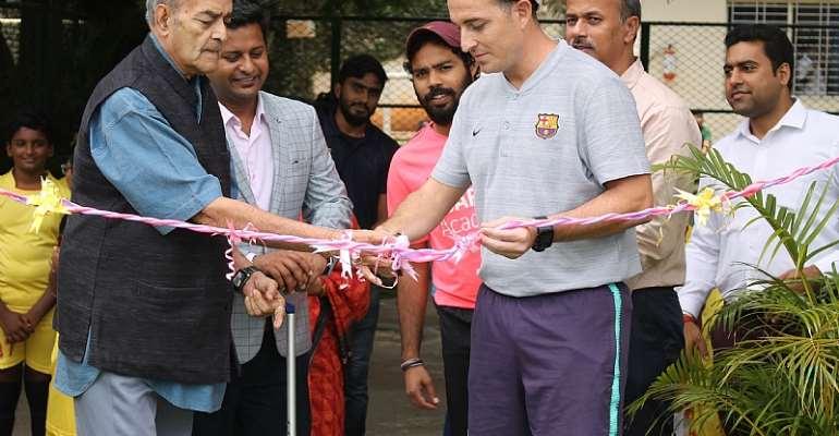 'FIFA Quality PRO Football Turf' inaugurated At Trio World Academy