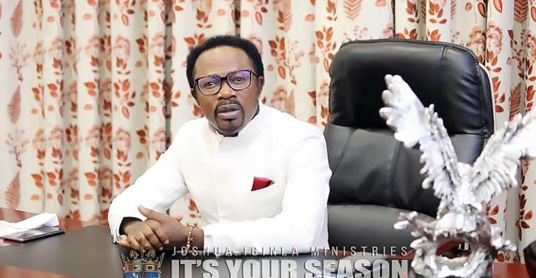 Prophet Joshua Iginla Relocates To South Africa
