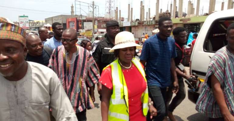 Sanitation Minister Tours Ayawaso East And North Municipality