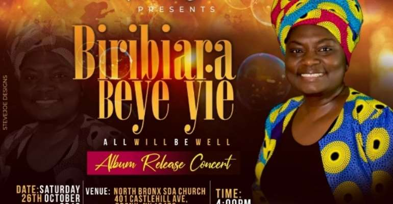 Singer Maame Jane To Release Gospel Album In New York