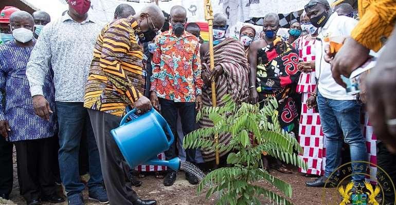 Berekum: Akufo-Addo Visits Site Of $16m Tomato Processing Factory