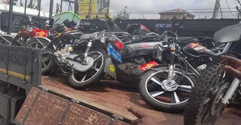 MTTD Clamps Down On Motorbikes Flouting Traffic Rules