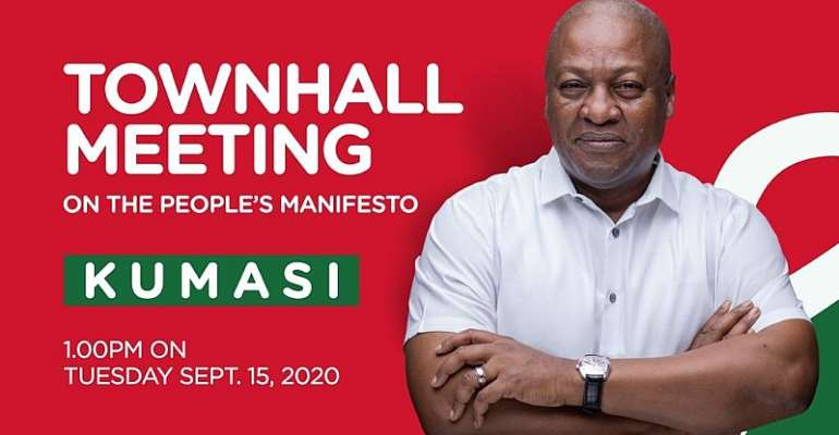 NDC To Hold Town Hall Meeting On The People's Manifesto