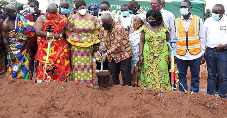 Chiefs And People Of Bono Region Welcome Construction Of Second Solid Waste Plant