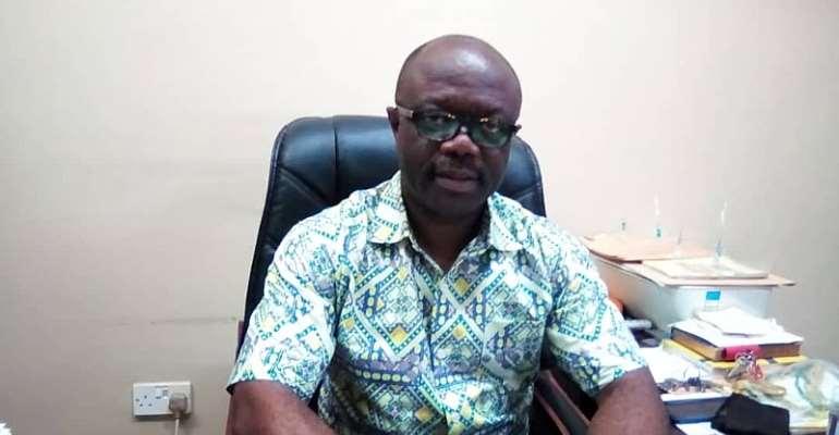 PENSEC Headmaster Peter Atta Gyamfi