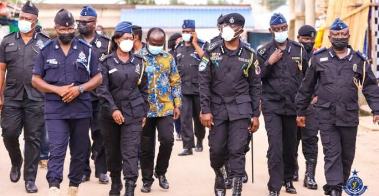 IGP, POMAB members undertake ground operational tour of new Central East command