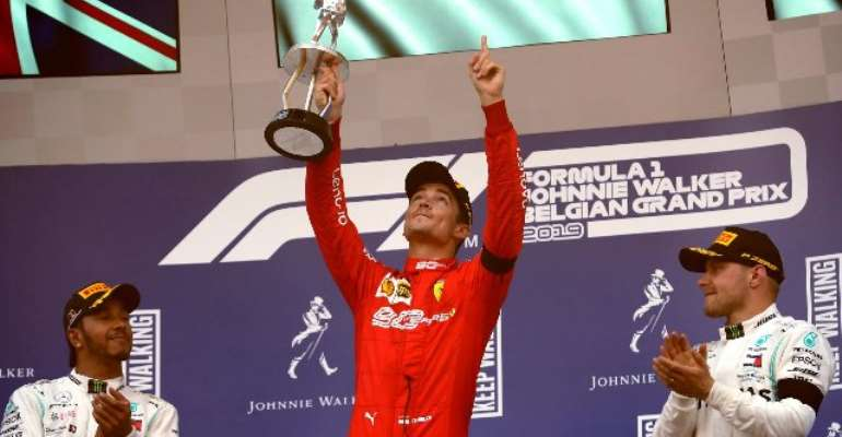 Leclerc Holds Off Hamilton To Take Emotional Maiden Grand Prix Victory