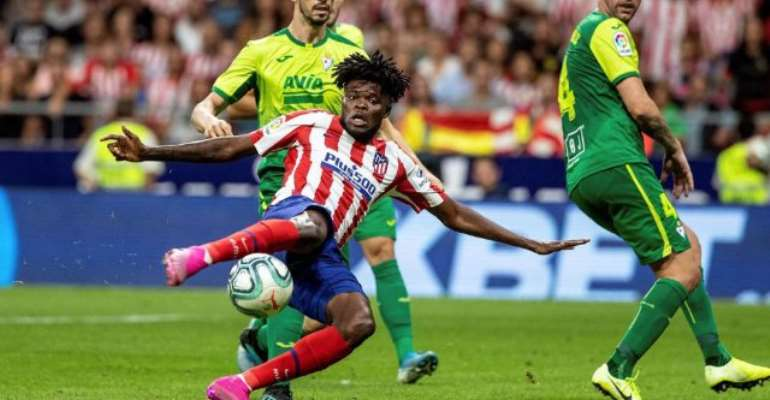Thomas Partey Powers Atletico Madrid To Victory Over Sturborn Eibar