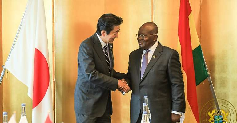 Ghana, Japan pledge to strengthen ties of co-operation