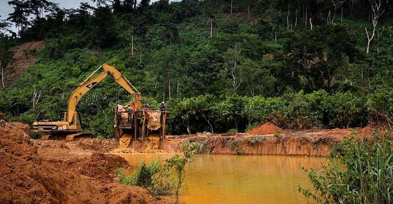 W/R: Five out of six bodies retrieved from galamsey pit