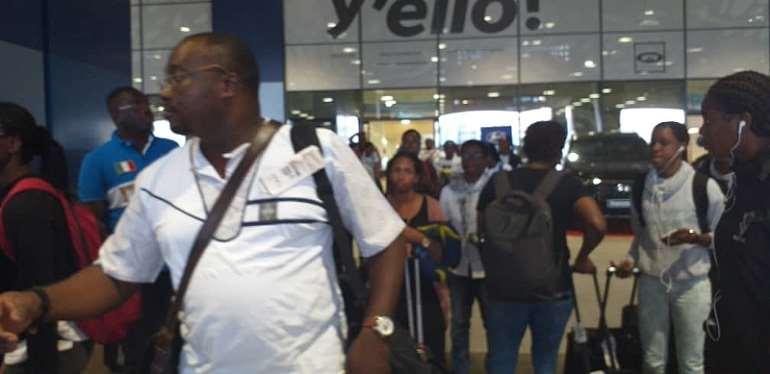 TOKYO 2020: Gabon Arrive In Ghana Ahead Of Black Queen Return Clash