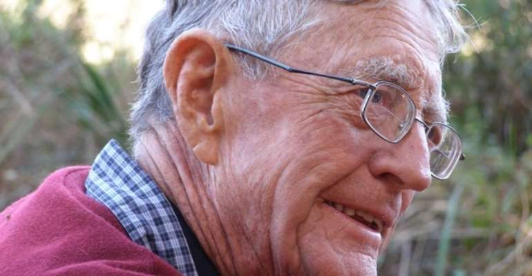 Revil Mason remained passionate about archaeology throughout his life. - Source: Supplied