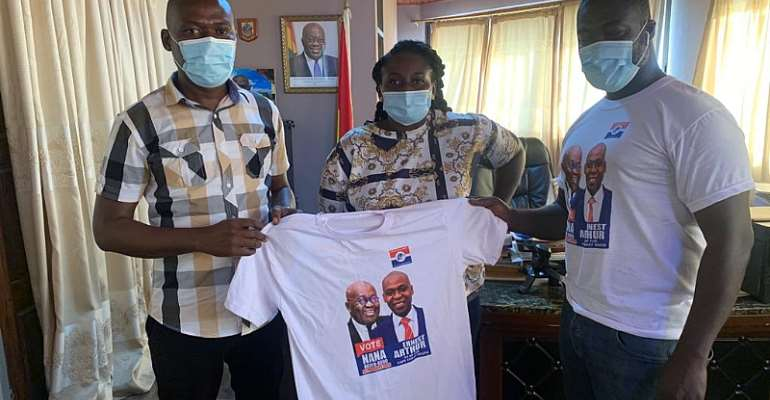 NPP UK Branch Donates First Tranche Of Branded T-Shirts To Agona East, Cape Coast South Constituencies