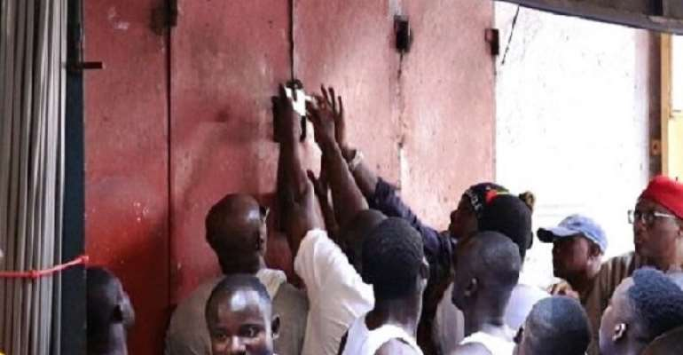 Koforidua: It's Not Possible To Lock Our Shops – Nigerians Dares GUTA