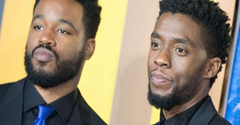 Ryan Coogler and the late Chadwick Boseman